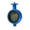 SL-Läppäventtiili | Halar/EPDM - DN100, GJL-200, CF8M/Halar, EPDM, F07/F07