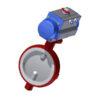 Toimilaiteventtiilit | PTFE - DN200, GJL-200, CF8M/ EN 1.4408, PTFE, 125DA