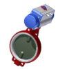 Toimilaiteventtiilit | PTFE - DN250, GJL-200, CF8M/Halar, PTFE, 160DA