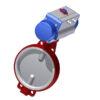 Toimilaiteventtiilit | PTFE - DN300, GJL-200, CF8M/ EN 1.4408, PTFE, 160DA