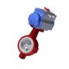 Toimilaiteventtiilit | PTFE - DN40, GJL-200, CF8M/ EN 1.4408, PTFE, 75DA